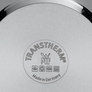 Der Boden des WMF Schnellkochtopfes ist mit 'TransTherm' beschriftet
